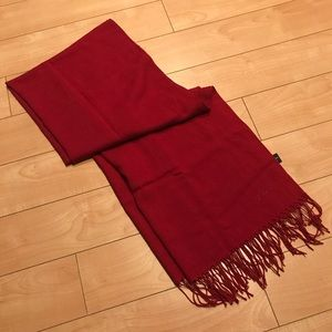 ETRO Red Scarf 🧣Made In Italy 🇮🇹